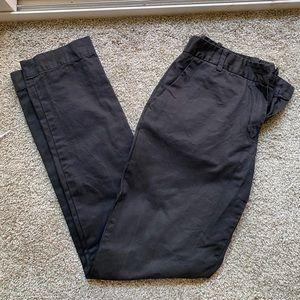 Black Lacoste Pants
